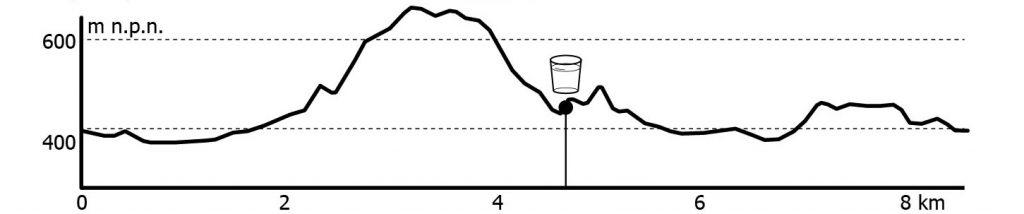 gur 9 km profil trasy
