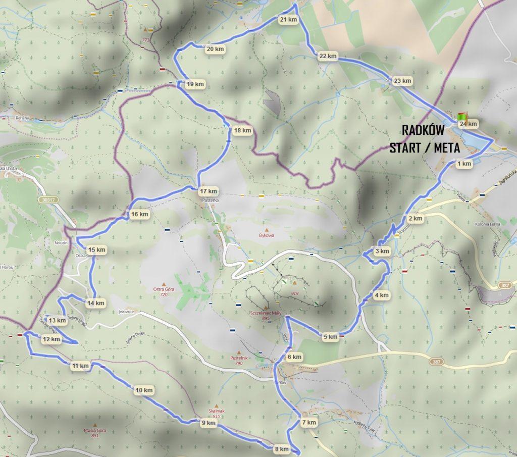 gur 24 trasa