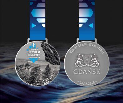 medal garmin ultra race trójmiasto