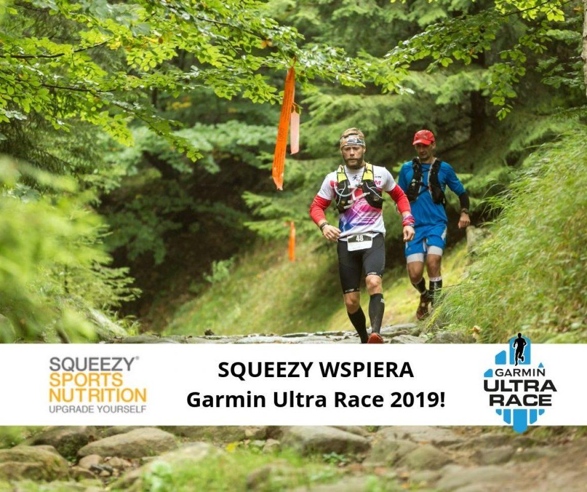 Squeezy sponsorem Garmin Ultra Race 2019
