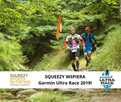 Squeezy sponsorem Garmin Ultra Race 2019